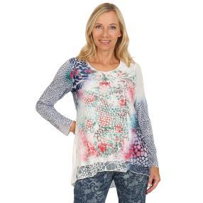 VV Shirt 'Tiara' multicolor