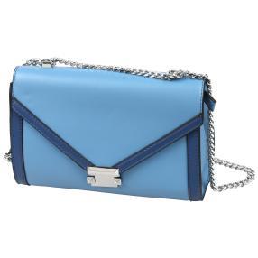 Damen Umhängetasche, blau, dunkelblau