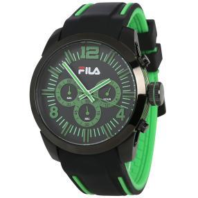 FILA Herren-Chronograph schwarz, grün