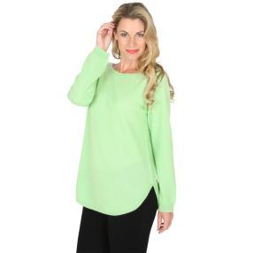 100% KASCHMIR Pullover  hellgrün