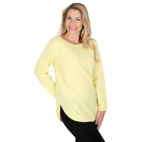100% KASCHMIR Pullover  hellgelb