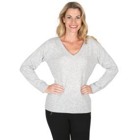100% KASCHMIR Pullover  hellgrau
