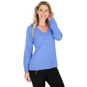 100% KASCHMIR Pullover  blau