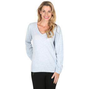 100% KASCHMIR Pullover  bleu