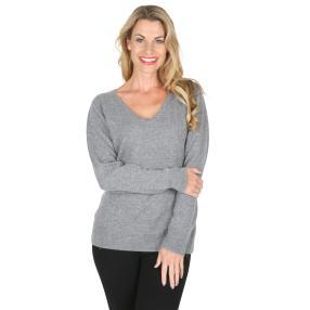 100% KASCHMIR Pullover  anthrazit