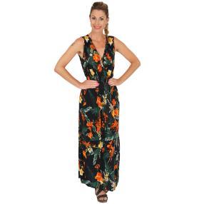 Damen-Sommer-Maxikleid multicolor