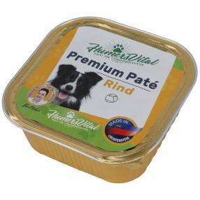 9x Humers Vital Hundefutter 300g Patè Rind