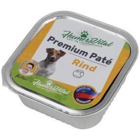 11x Humers Vital Hundefutter 150g Patè Rind