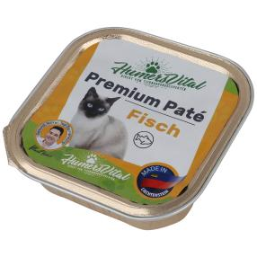 16x Humers Vital Katzenfutter 100g Patè Fisch