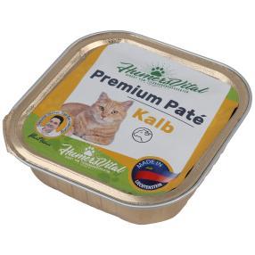 16x Humers Vital Katzenfutter 100g Patè Kalb