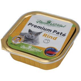 16x Humers Vital Katzenfutter 100g Patè Rind