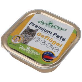 16x Humers Vital Katzenfutter 100g Patè Geflügel