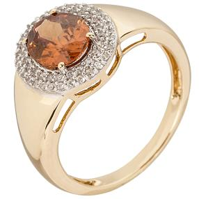 Ring 585 Gelbgold Zirkon