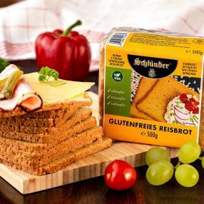 Schlünder Reisbrot glutenfrei 2x 500g