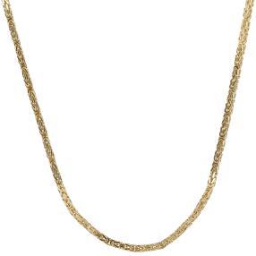 Königskette 585 Gelbgold, ca. 60cm