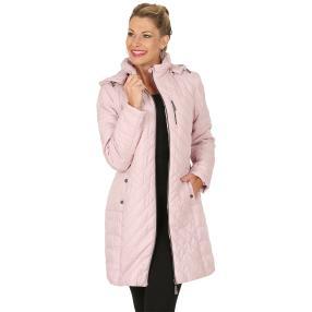 kirsten Damen-Long-Steppjacke 'Aspen' rosé