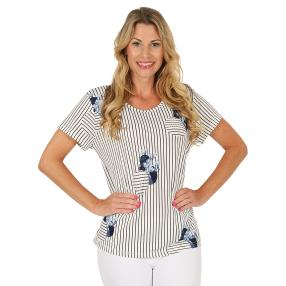 Damen-Shirt marine