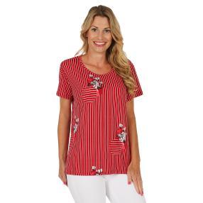 Damen-Shirt rot