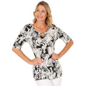 MILANO Design Shirt schwarz/weiß
