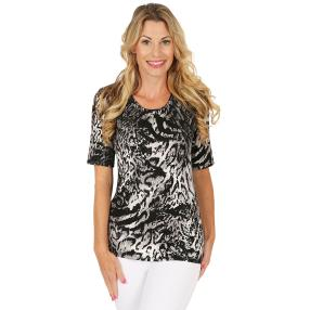MILANO Design Shirt schwarz/weiß/grau