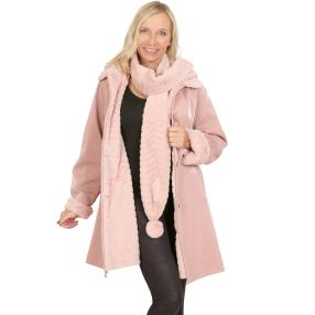 mocca by Jutta Leibfried Jacke blush