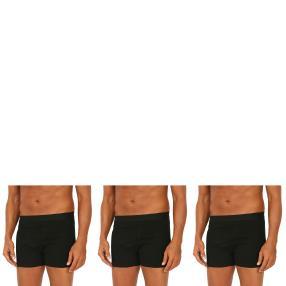 3er Pack Männer Boxer Slip  schwarz
