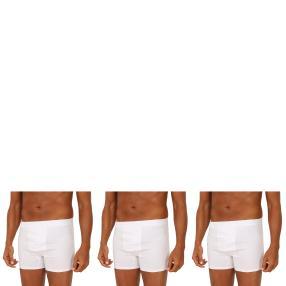 3er Pack Männer Boxer Slip  weiß