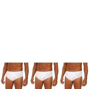 3er Pack Männer Slip  weiß