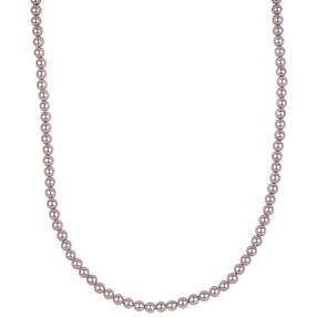 Collier Muschelkernperle, lilac