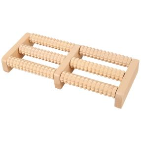 WELLYS Fußmassagegerät aus Holz