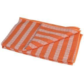 WOHNEN & GENIESSEN Bambus Geschirrtuch Set orange