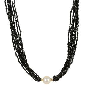 Collier Spinell 925 St. Silber mit Perle