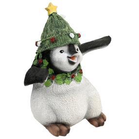 Dekofigur Pinguin tanzend