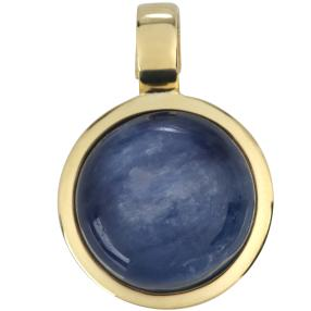 Clipanhänger 925 Silber vergoldet, Kyanit
