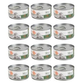 12x Filet Lachs pur 70 gr. für Katzen