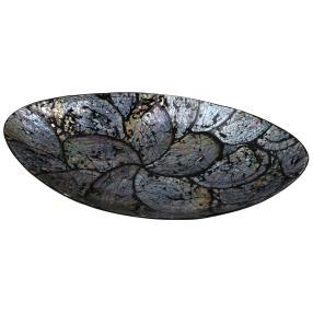 Muschel Schale oval 38x19 cm
