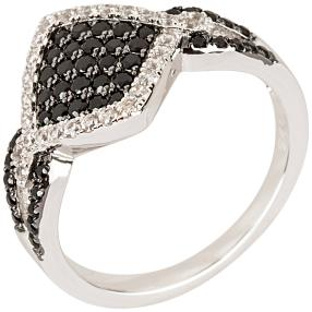Ring 925 Sterling Silber Spinell+Zirkon