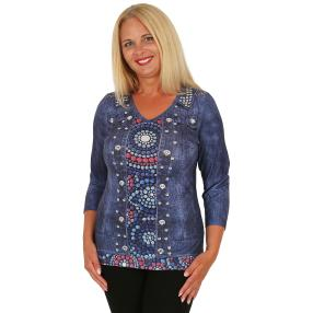 BRILLIANTSHIRTS Damen-Shirt multicolor