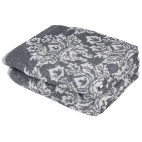 OPTISPLASH Duschtuch 2er-Set Jacquard grau