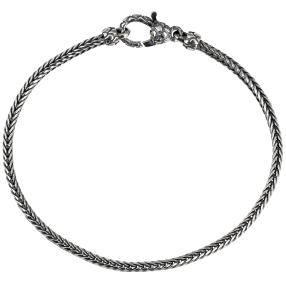 Armband 925 Sterling Silber, ca. 21,5cm