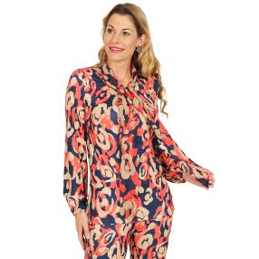 mocca by Jutta Leibfried Shirt-Bluse multicolor