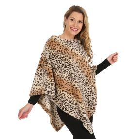 Edler Webpelzponcho Leopard