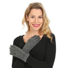 TOP FASHION Handschuhe geschmückt
