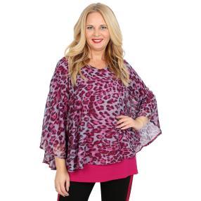 CANDY CURVES Tunika-Shirt multicolor