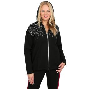 CANDY CURVES Cardigan schwarz