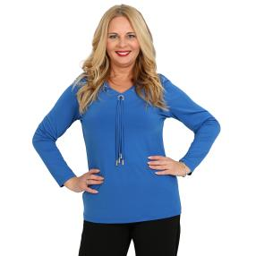CANDY CURVES Shirt royalblau