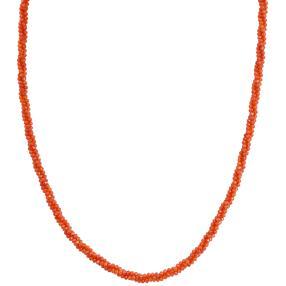 Collier Karneol, ca. 45+5cm