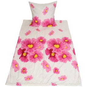 AllSeasons Bettwäsche 2-teilig, floral pink