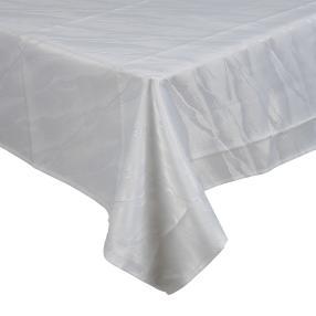 Tafeltischdecke mit Teflonausrüstung weiß 160x220