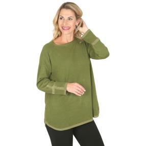 Damen-Pullover 'Lola'  apfelgrün